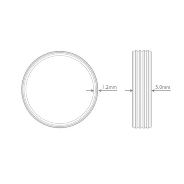 Saturn Him Ring Dimensions