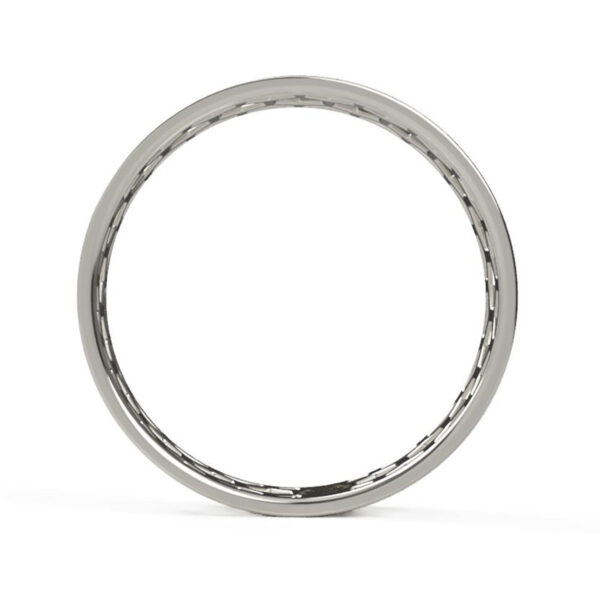 Uniti 1966 Platinum white gold silver Ring for her side