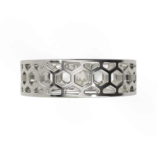 Uniti 1966 Platinum white gold silver Ring for her top