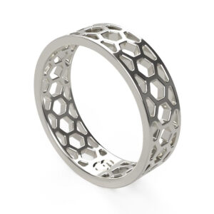 Uniti 1966 Platinum white gold silver Ring for him