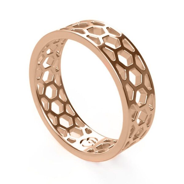 Uniti 1966 Red Gold Ring for him