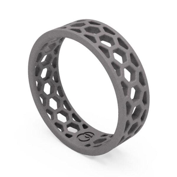Uniti 1966 Titanium Ring for him