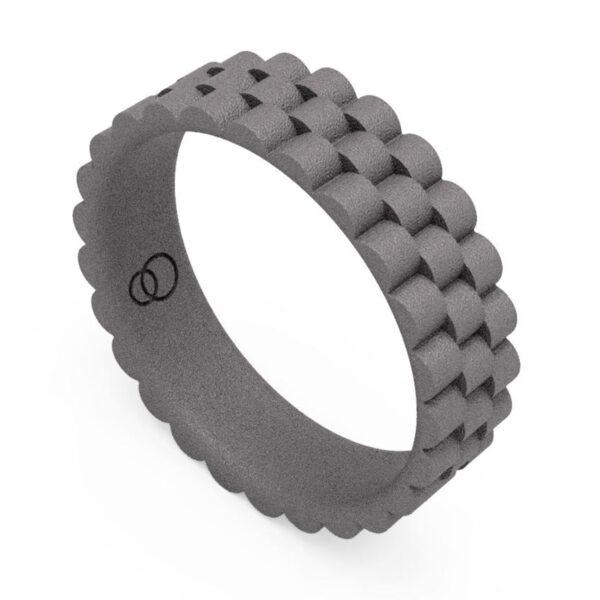 Uniti Binary Titanium Ring