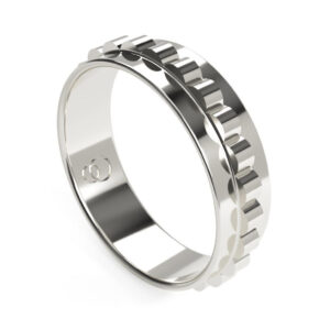 Uniti Cognitive Platinum white gold silver Ring