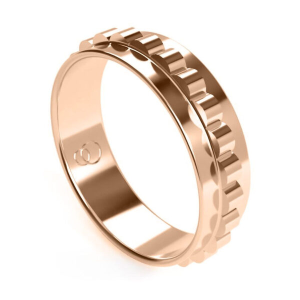 Uniti Cognitive Red Gold Ring