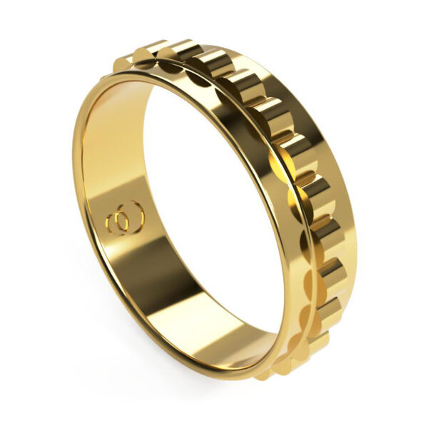 Uniti Cognitive Yellow Gold Ring