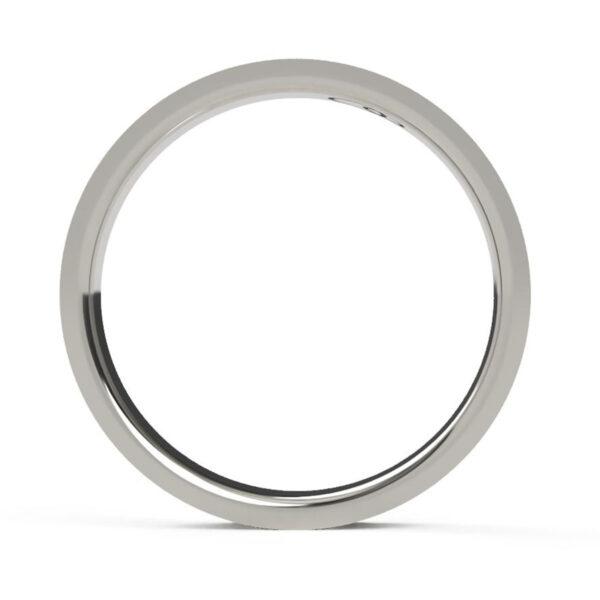 Uniti Everlasting Platinum white gold silver Ring for her