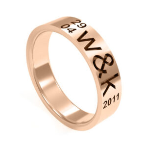 Uniti Everlasting Red Gold Ring for her