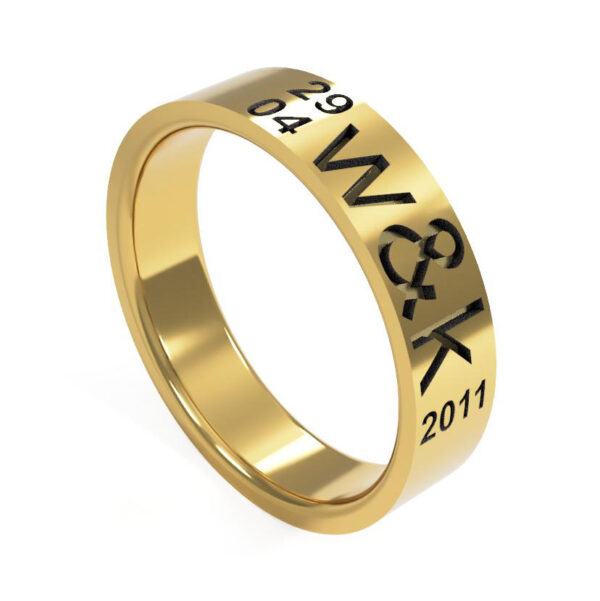 Uniti Everlasting Yellow Gold Ring for her