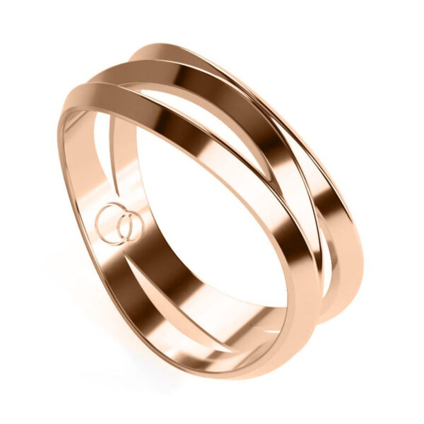 Uniti Evolution Red Gold Ring