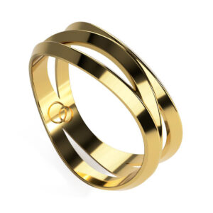 Uniti Evolution Yellow Gold Ring
