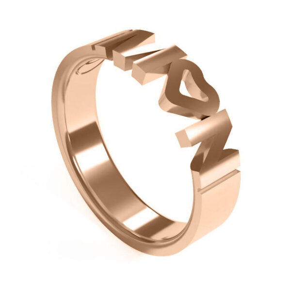 Uniti Forever Red Gold Ring