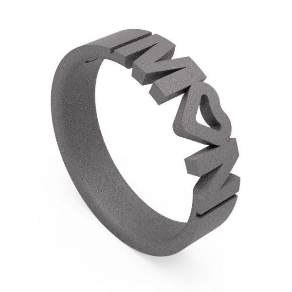 Uniti Forever Titanium Ring