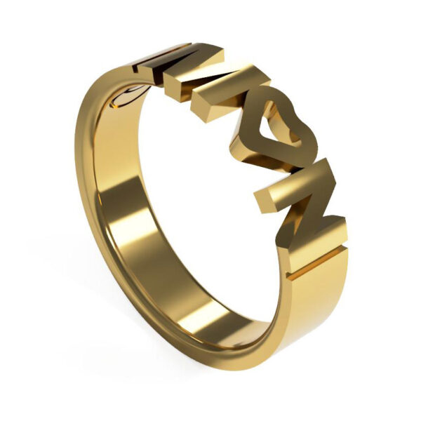 Uniti Forever Yellow Gold Ring