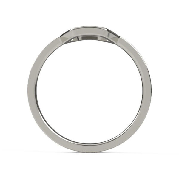 Uniti Hive Platinum white gold silver Ring