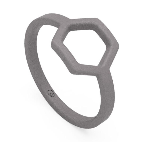Uniti Hive Titanium Ring