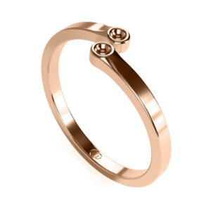 Uniti Polar Red Gold Ring