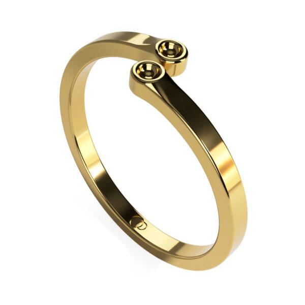 Uniti Polar Yellow Gold Ring