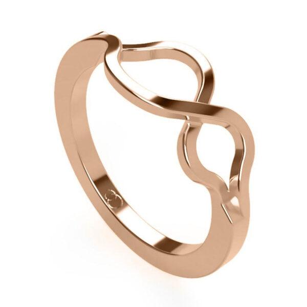Uniti Infiniti Red Gold Ring