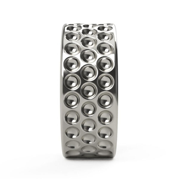 Uniti Links Platinum white gold silver Ring
