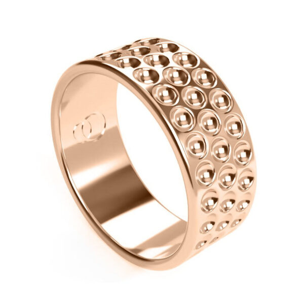 Uniti Links Red Gold Ring
