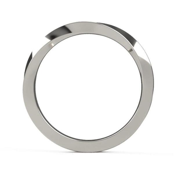 Uniti Morbius Platinum white gold silver Ring