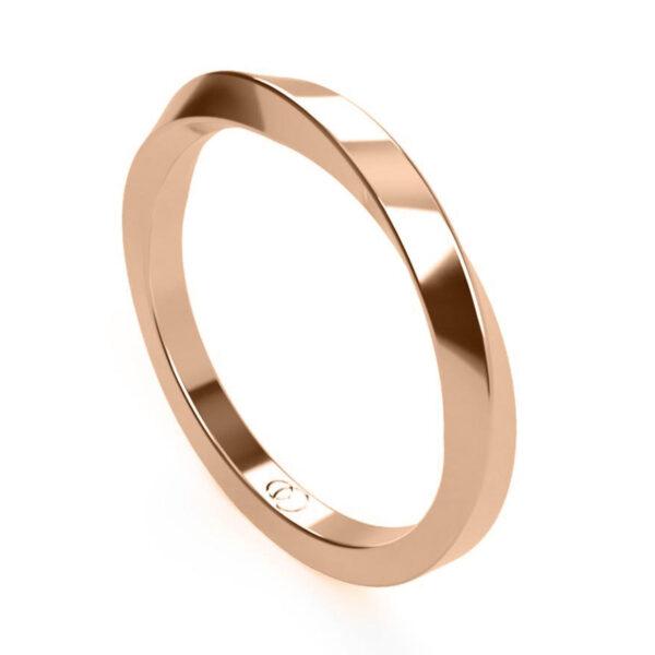 Uniti Morbius red gold Ring
