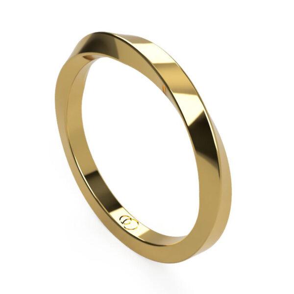 Uniti Morbius yellow gold Ring