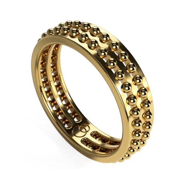 Uniti Royalti Yellow Gold Ring