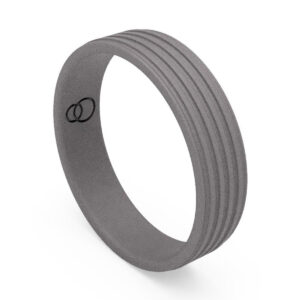 Uniti Saturn Titanium Wedding Ring for him