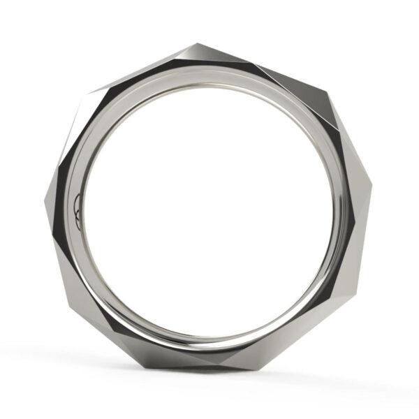Uniti Tetra Platinum white gold silver Ring