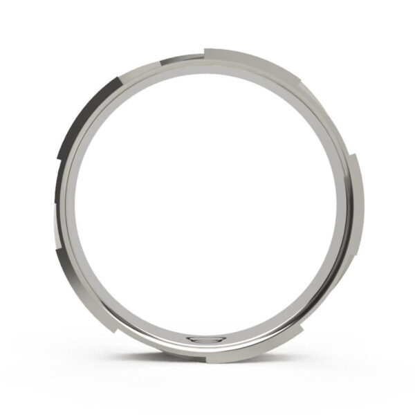 Uniti Triniti Platinum white gold silver Ring