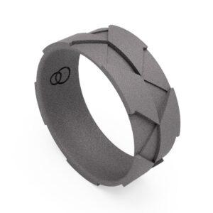 Uniti Triniti Titanium Ring