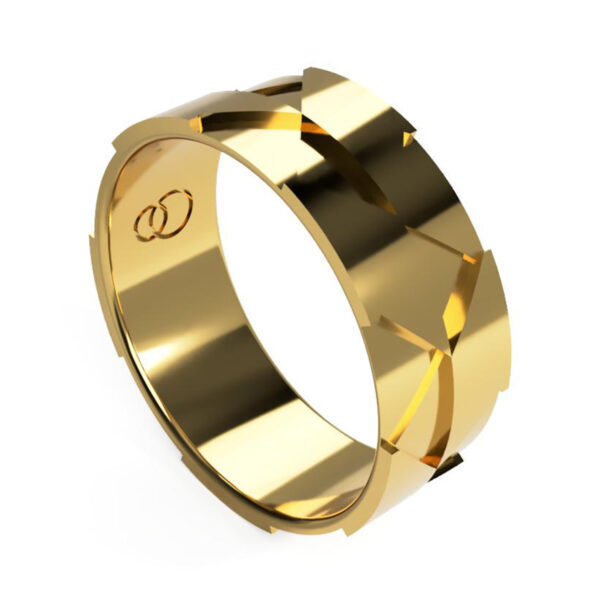 Uniti Triniti Yellow Gold Ring