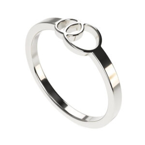 Uniti Unite Platinum white gold silver Ring