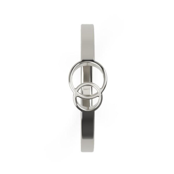 Uniti Unite Platinum white gold silver Ring
