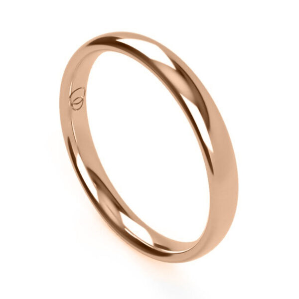 Uniti Court red gold Wedding Ring for her