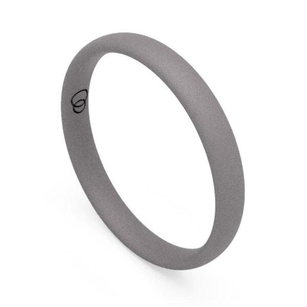 Uniti Court titanium Wedding Ring for her