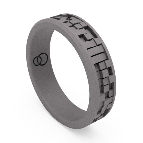 Uniti Equalizer Titanium Wedding Ring for her