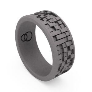 Uniti Equalizer Titanium Wedding Ring for him