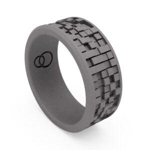 Uniti Equalizer Titanium Wedding Ring for him