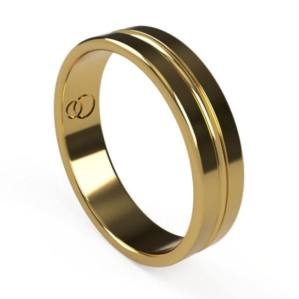 Uniti Eterniti Yellow Gold Wedding Ring for her