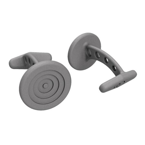 Uniti Target Titanium Cufflinks